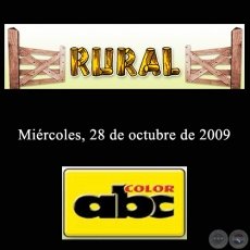 RURAL - 28 de Octubre de 2009 - ABC COLOR